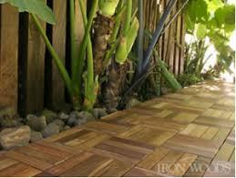 iron wood ipe deck tile poco building supplies vancouver