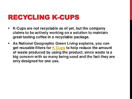 Basic Information About K Cups