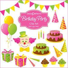 Celebration Clipart Birthday Stuff 3