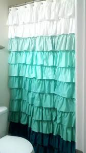Pink Ruffle Curtains Uk by Shower Curtains White Ruffle Shower Curtain Bathroom Decoration