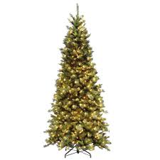 8 Ft Black Artificial Christmas Tree by National Tree Company 7 5 Ft Tiffany Fir Slim Artificial
