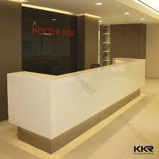 Modern Durable Hotel Reception Counter Design