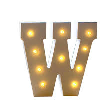 Amazoncom MUEQU Decorative Light Up Letter Wooden LED Marquee