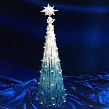 Winter Wonderland Blue Tree Decorations