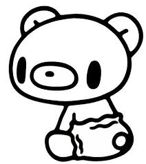 446x502 Kawaii Coloring Pages Teddy Bear