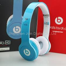 Top Quality Monster Beats solo HD headphone in Light blue solo