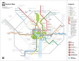 Project Washington DC Metro Diagram Redesign