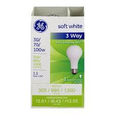 ge soft white 3 way 30 70 100w bulb 1 0 ct walmart