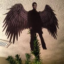 Christmas Tree Toppers Etsy by Badass Castiel Tree Topper Supernatural Christmas Pinterest