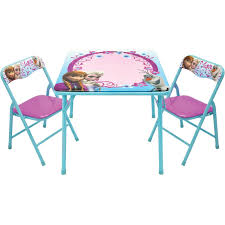 Baby. Disney Frozen Activity Table And 2 Chair Set: Play ... Fniture Lifetime Contemporary Costco Folding Chair For Ideas Walmart Lawn Chairs Relax Outside With A Drink In Mesmerizing Tables Cheap Patio Set Find French Bistro And Lily Bamboo Riviera Folding Chairs Outdoor Rohelpco Mainstays Steel Black Tips Perfect Target Any Space Within The Product Recall 5 Piece Card Table Sold At Gorgeous At Amusing Multicolors