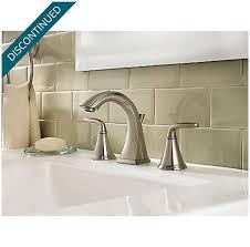 brushed nickel pasadena widespread bath faucet f 049 pdkk