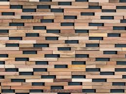 Revestimientos de pared 3D de madera