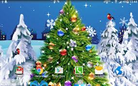 Types Of Live Christmas Trees by Christmas Live Wallpaper Android Apps On Google Play