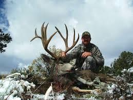 Shed Hunting Southern Utah southern utah hunt and fish cody pollock u0027s 2011 muzzleloader buck