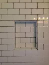 tiler trying to talk me out of all tile niche