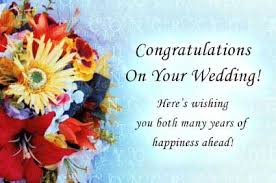 Wedding Celebrations Free Congratulations ECards Greeting Cards