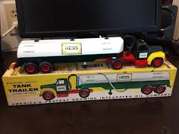 1964 HESS Tanker Truck - Lights Work - Very Nice Condition - With ... Hess Toy Trucks Mini Toys Buy 3 Get 1 Free Sale 1964 Hess Tanker Truck All Original Great Cdition 1849392991 Rays 2012 Vintage Marx Toy Tanker Mack Tank Truck Trailer W Box Tanker Truck 1725000816 For Sale In Nj 1969 Amerada Original Near Mint Hess With Funnel And Box Aj Colctibles More Pulls Wraps Off 50th Anniversary Holiday Toy Wfmz Tank Hong Kong 63500 Pclick 1st Wind Up Metal Car Nmib Works Best Example I