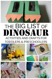 Discover Enjoy Play And Learn With This BIG List Of Dinosaur Crafts Activities