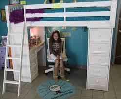 Bunk Bed Desk Combo Plans by Bedrooms Splendid Loft Bed Ideas For Small Rooms Queen Loft Bed