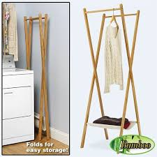 Decorative Clothes Rack Australia the stylish clothes rack foldable pertaining to property prepare