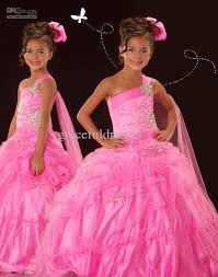 pink pageant dresses for kids dresses for weddings kids evening