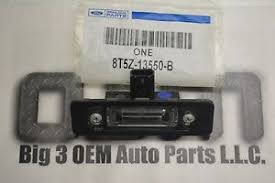 ford fusion focus rh or lh license plate l light housing