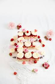 erdbeer joghurt kuchen lettercake handmade kultur