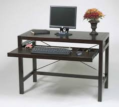 Glass Computer Desk At Walmart by Desks Small Writing Desk With Drawers Modern Wood Desk Computer