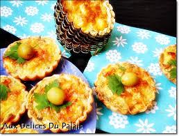 mini quiche pate feuilletee mini quiche thon olive aux delices du palais