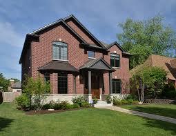 100 Crescent House Front New Custom Homes Globex Developments Inc Custom