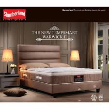 Slumberland Bed Frames by Slumberland Tempsmart Warwick Ii Mattress U2013 Big Brain
