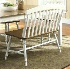 Upholstered Dining Room Bench With Back Table Regard To Decor