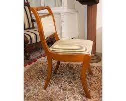 stuhl englischer stil kirschholz polsterstuhl esszimmer