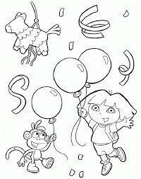 Ausmalbilder Dora 54