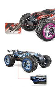 RC Cars 2.4G 4WD Bigfoot Monster Truck Land Buster Speed Racing Off ...