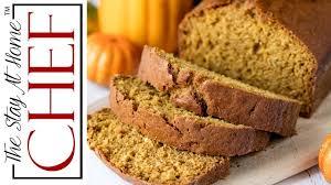 Starbucks Pumpkin Loaf Ingredients by Moist Pumpkin Bread From Scratch Youtube
