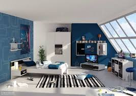 Samples For Blue And White Bedroom Decorating Ideas