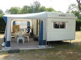 caravane 2 chambres location caravane 4 places 10m auvent 8m bassin arcachon