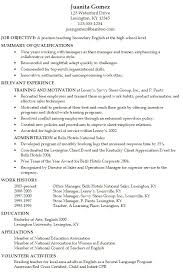 High School Resume Examples Awesome Secondary English Teacher At Level Of