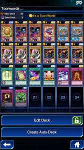 toon world decks and tips yugioh duel links gamea