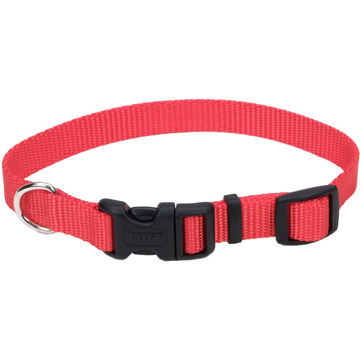 Coastal Pet Products Nylon Adjustable Collar - Red, Small