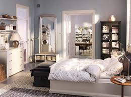 Ikea Traditional Small Master Bedroom Storage Design Ideas