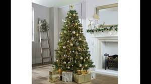 Balsam Christmas Trees Uk by Artificial Christmas Trees Uk Youtube