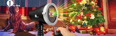 Firefly Laser Lamp Amazon by Amazon Com 1byone Aluminum Alloy Christmas Outdoor Laser Light