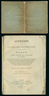 Appendix Roads 1889