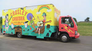 100 Crosley Truck Keeps Growing Mobile Record Store Opens At Abbey Road