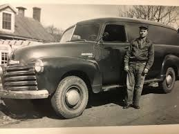 Uncle Eddie With Out 1949 Chevy Panel Van 3800. Still Runs Today ... 471954 Chevrolet Pickup Trucks 13motorscom Marchapril 2018 Vintage Truck Magazine 1954 Panel For Sale Classiccarscom Cc910526 Nostalgia On Wheels 1949 Chevy 12 Ton Eddies Parlor Ford F1 Panel Truck Rat Rod Hot Custom Delivery Holy 3800 283ndy Gateway Classic Cars 1951 Ford Cc1127672 Repairing A Damaged Cowl Patch 471955 Trucks Hot 1959 Apache Van On Eddies One Bad Little Pickup James And Carol Draytons
