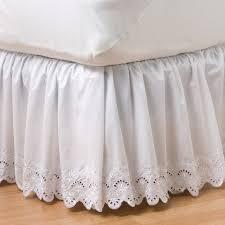 Classics Eyelet Bedskirt Full