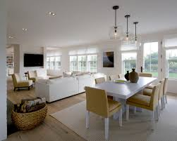 Harmonious Open Kitchen To Dining Room by Dining Room Small Open Plan Kitchen Living Room Design Pictures
