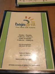 Chanos Patio Menu by Baja Grill Little Rock Menu Prices U0026 Restaurant Reviews